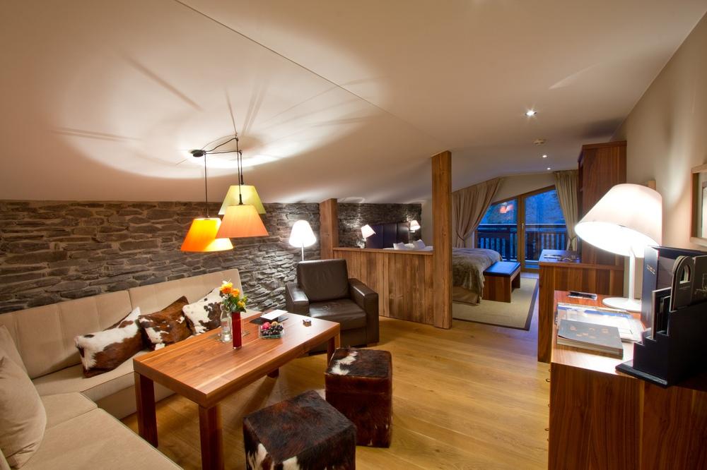 Interalpen-Hotel Tyrol Zimmer Premium Lodge