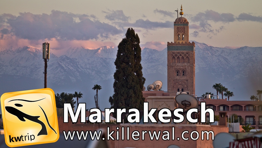 Video Reisevideo Marrakesch Marokko YouTube Reiseblog
