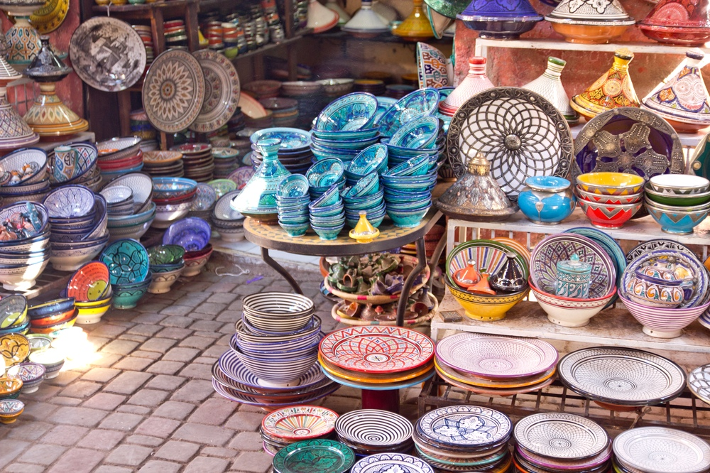 Souk Markt Marrakesch Reise