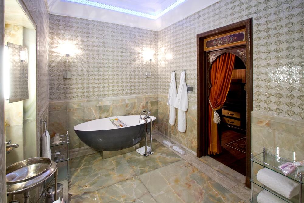 Badezimmer Riad Hotel Royal Mansour Marrakech