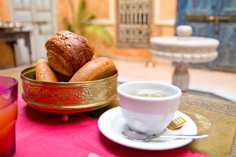 Riad Armelle Hotel Marrakesch Frühstück