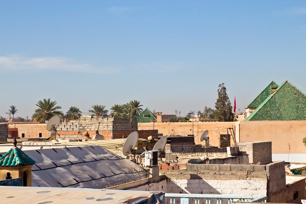 Riad Armelle Hotel Marrakesch - Dachterrasse