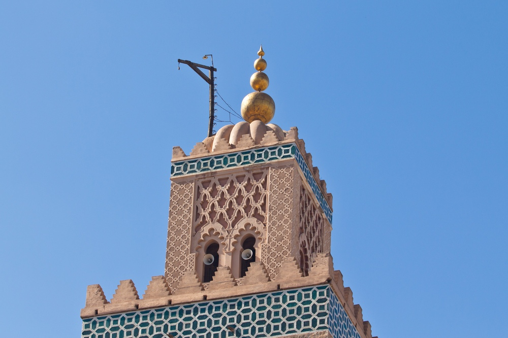 Koutoubia-Moschee Marrakesch Minarett