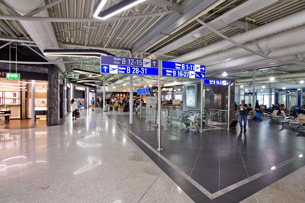 Flughafen Eleftherios-Venizelos-Flughafen Athen