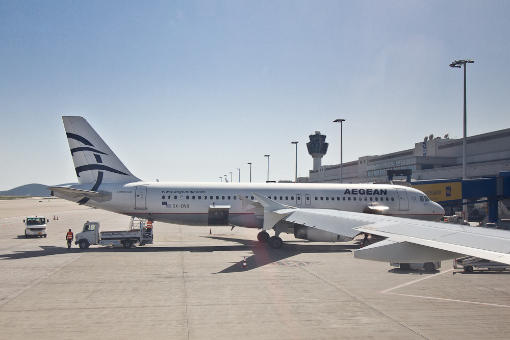 Aegean Airlines Airbus A320 Flugzeug