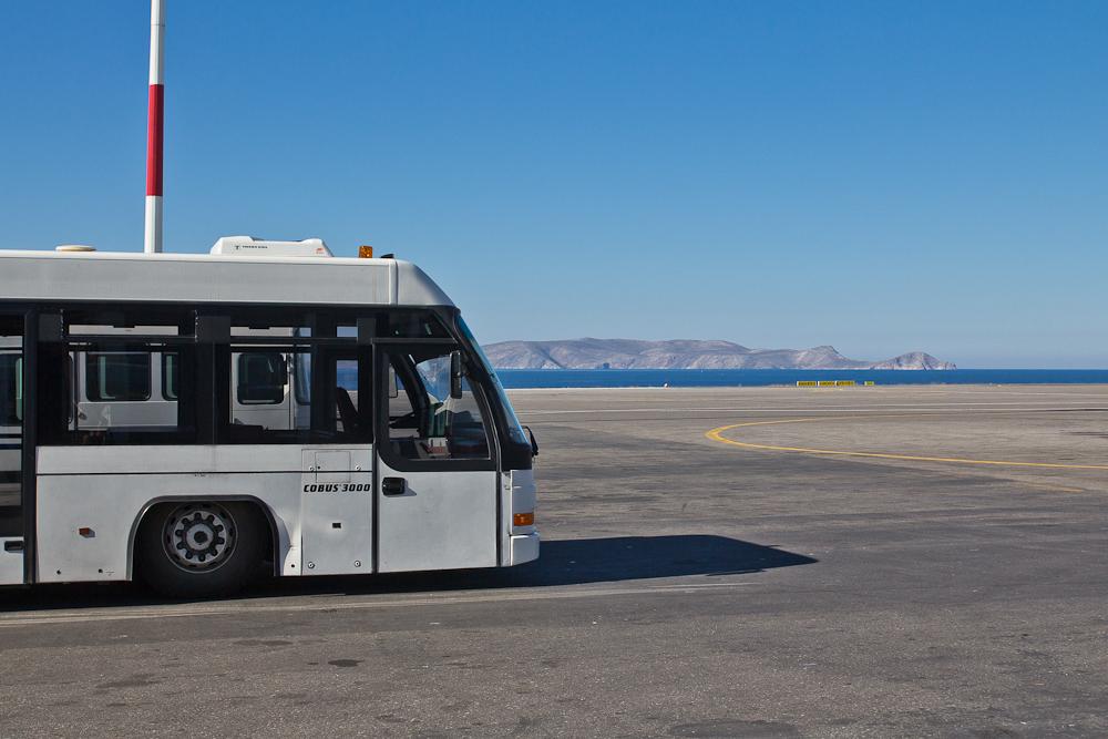 "Vorfeld Bus Flughafen Flughafen Iraklio ""Nikos Kazantzakis"""