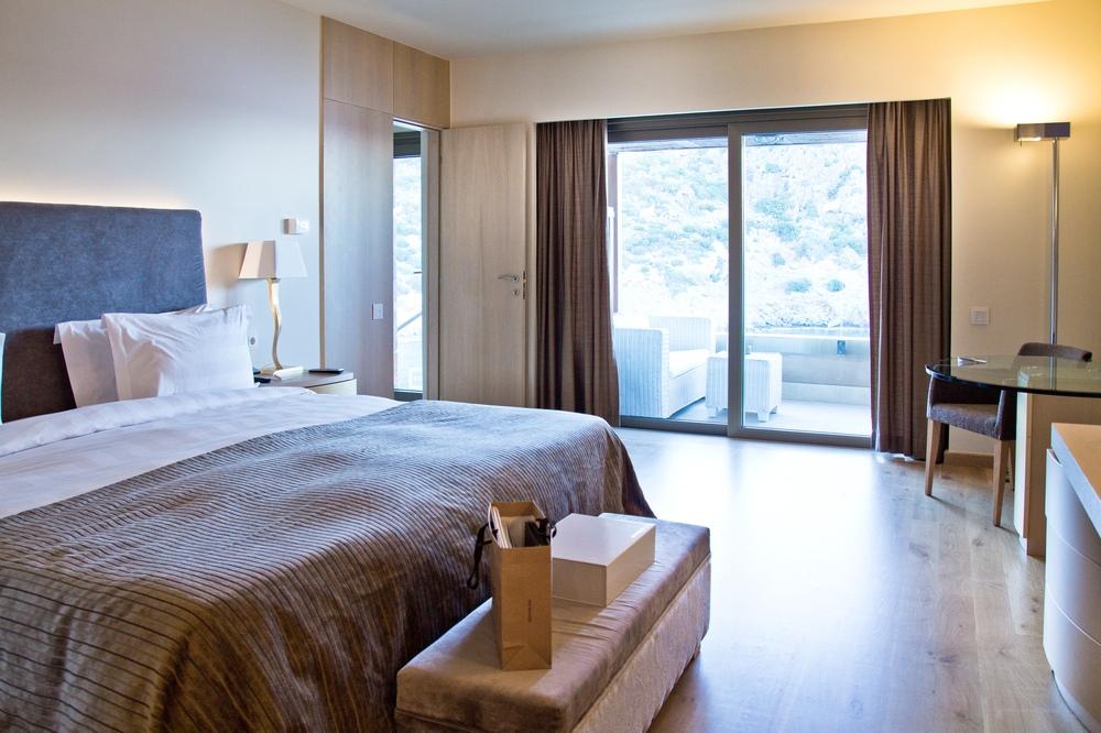 Luxus Hotel Kreta Schlafzimmer
