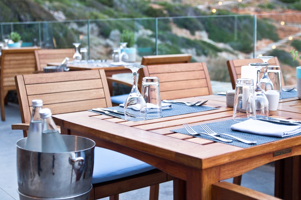 Ocean Restaurant Taverna  Daios Cove Luxury Resort & Villas Kreta