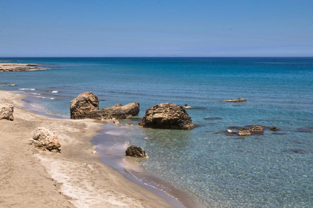 Meer Kreta Küste