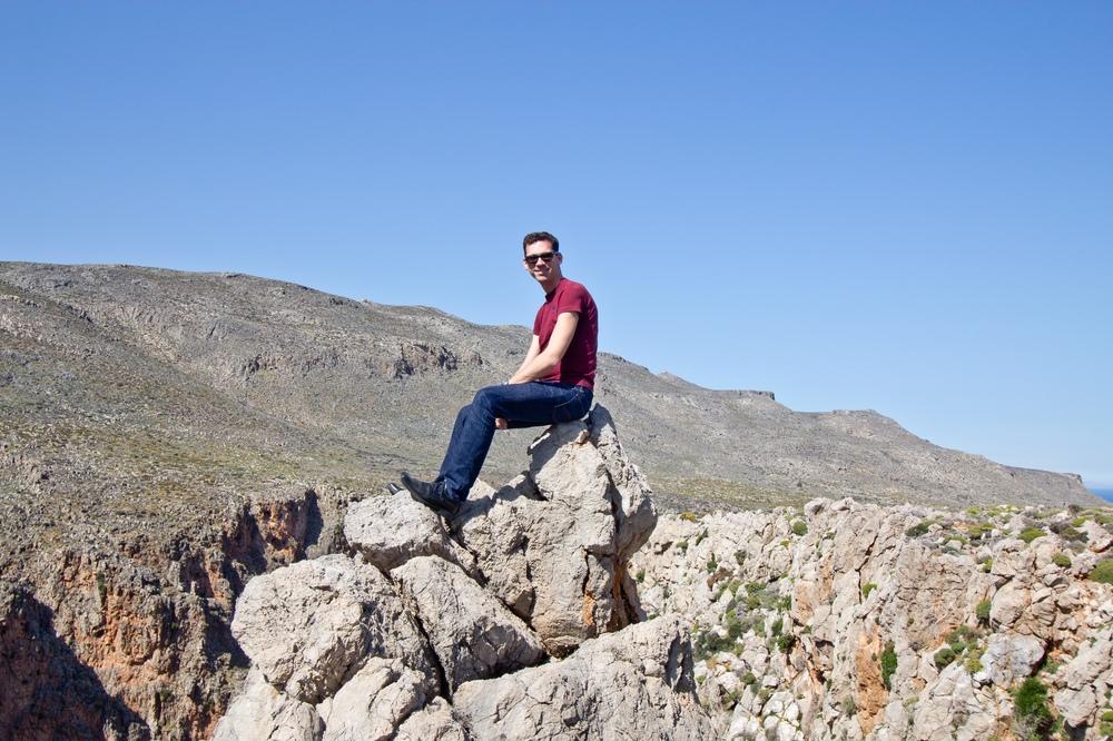 Schlucht der Toten Schlucht von Zakros Kreta