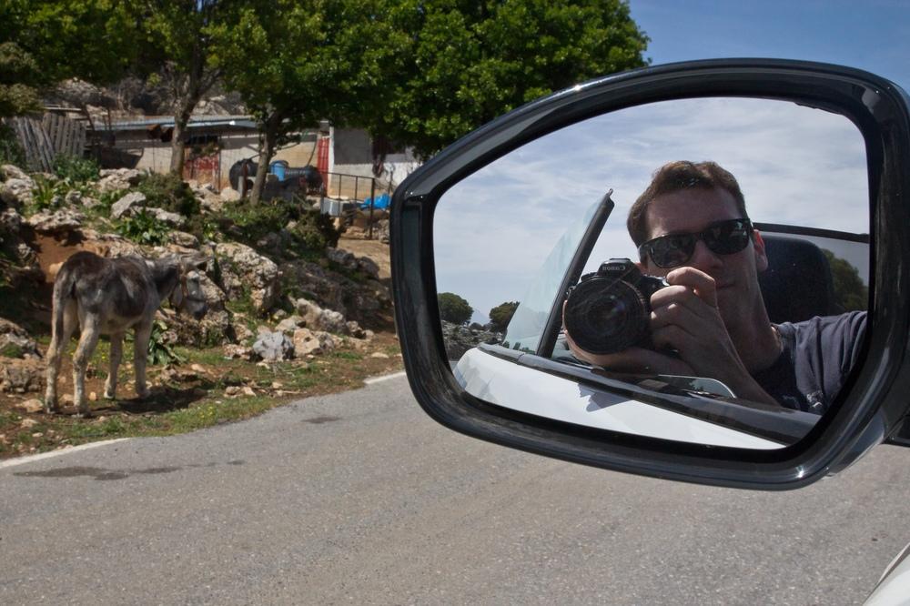 Rückspiegel Kamera Land Rover Evoque Straße
