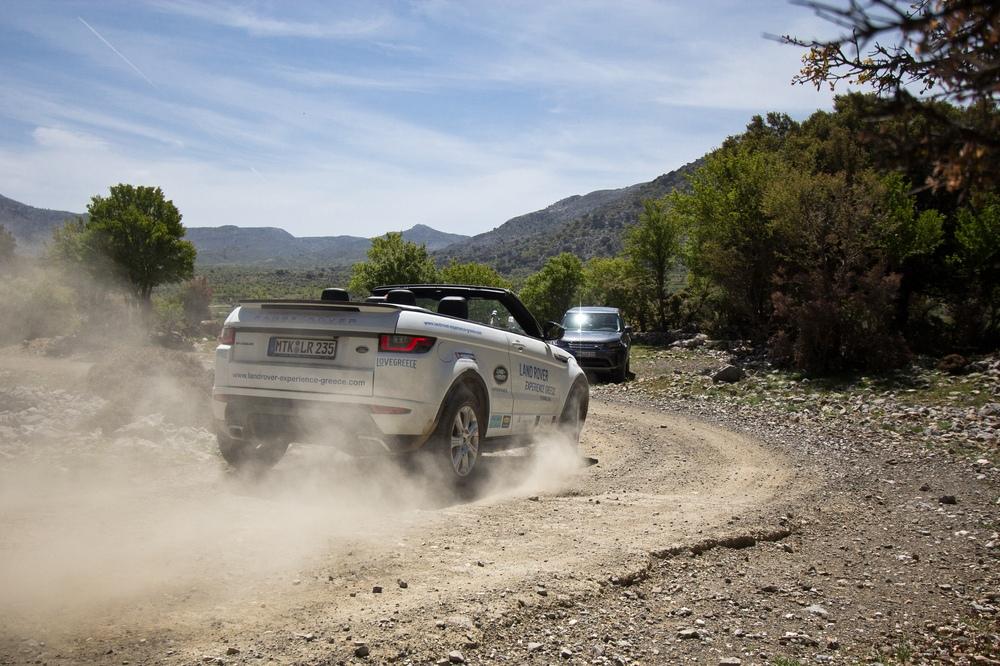 Offroad Land Rover Range Rover Evoque Cabriolet