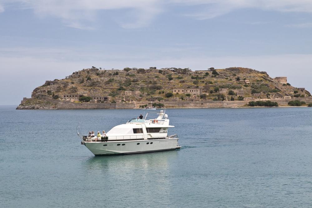 Spinalonga Golf von Mirabello Kreta Elounda