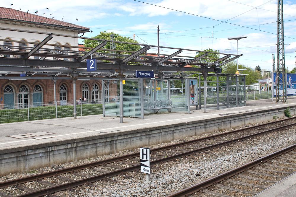 Bahnsteig Bahnhof Starnberg Starnberger See