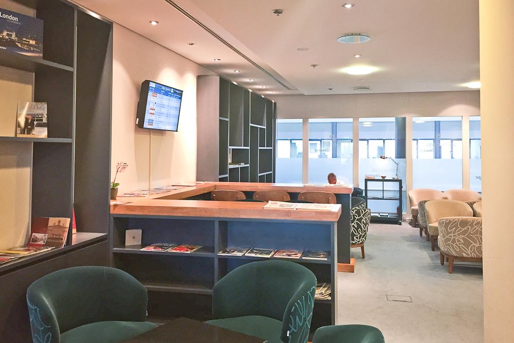 Primeclass Lounge Airport Leipzig Flughafen - Buffet Essen