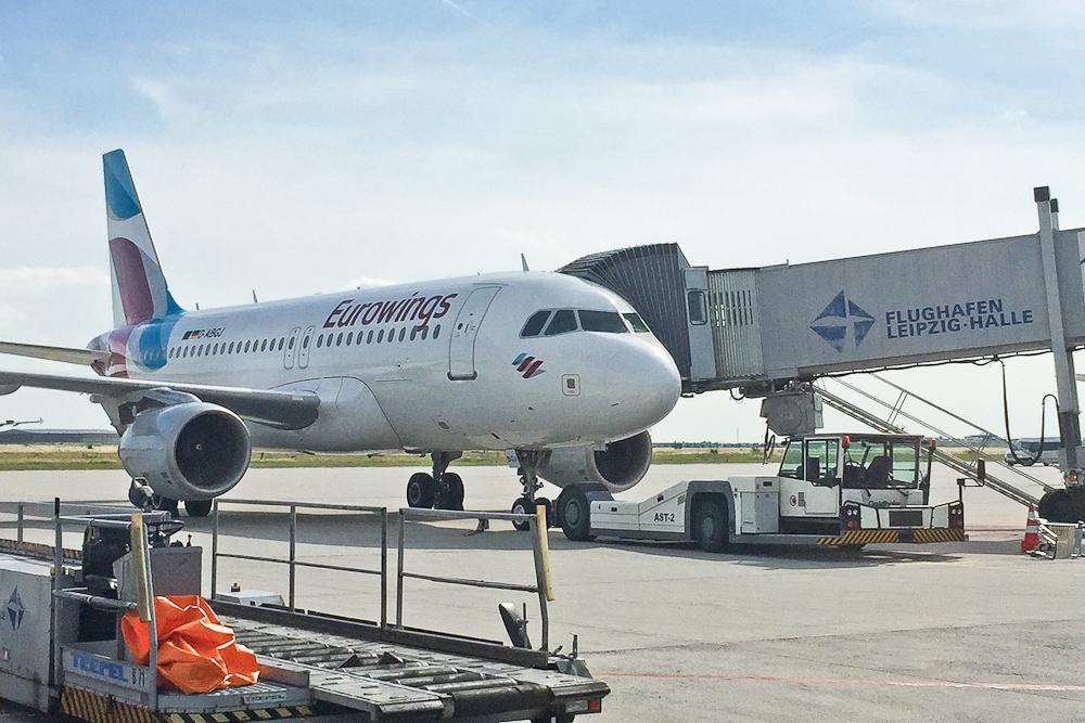 Eurowings Flughafen Leipzig
