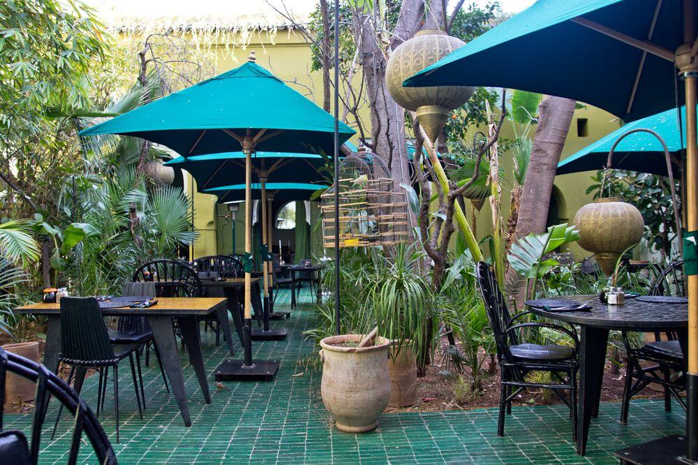 Marrakesch Restaurant Le Jardin Übersicht