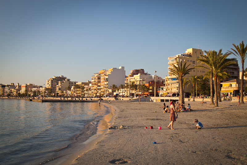 Strand bei El Arenal
