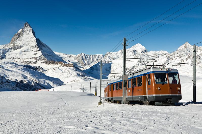 Zermatt Gornergratbahn Matterhorn Gornergrat