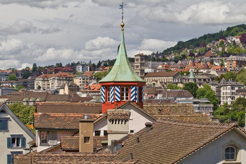 Ausblick Lindenhof Zürich