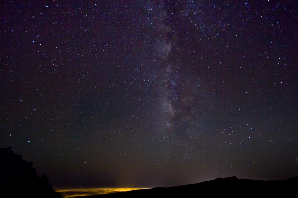 Teneriffa Teide Milchstraße Foto Timelapse Urlaub Reise