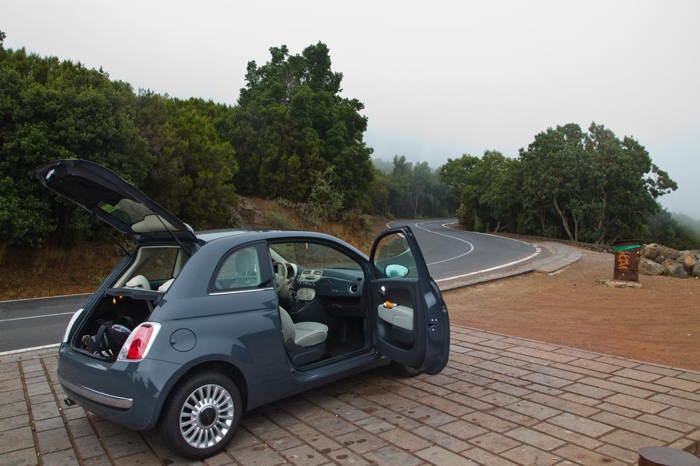 Teneriffa Teide Mietwagen Fahrt Karte Weg Urlaub Reise