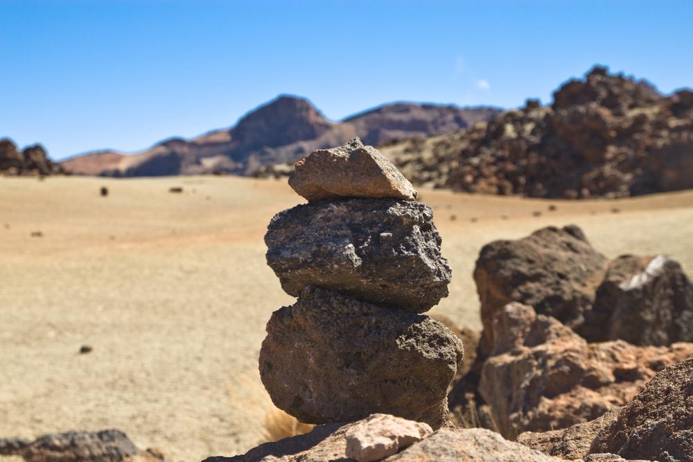 Teneriffa Teide Vulkan Vulkangestein Urlaub Reise