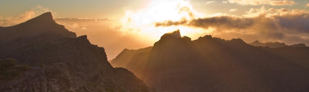Teneriffa Gebirge Masca Schlucht Wandern Karte Urlaub Reise