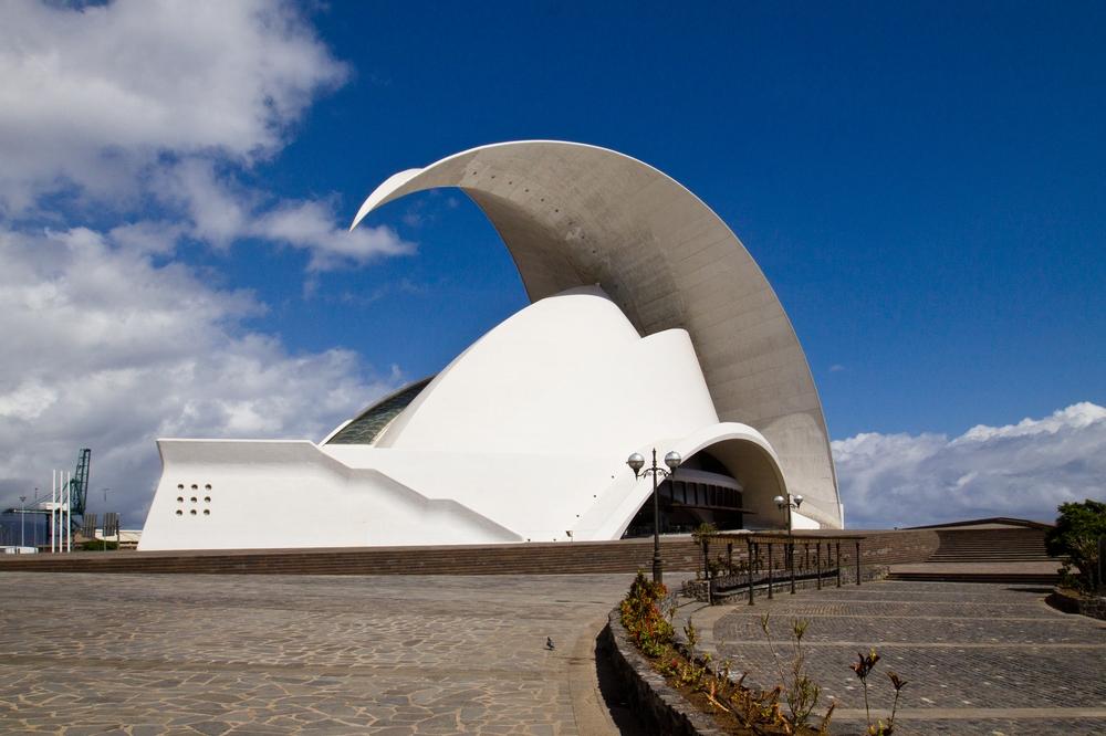 Teneriffa Santa Cruz Adan Martin Auditorium of Tenerife
