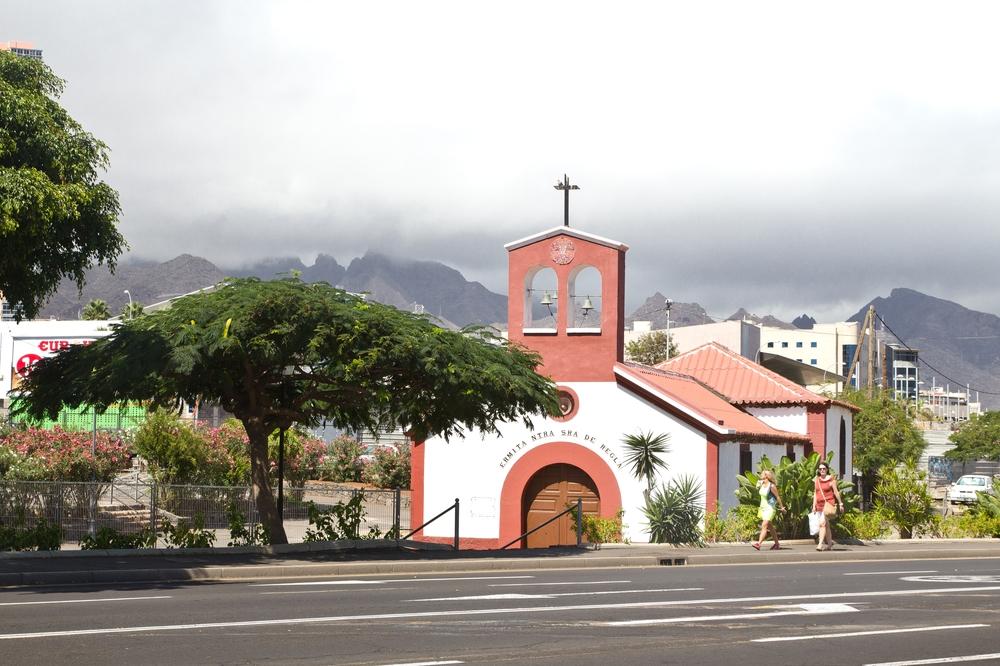 Teneriffa Santa Cruz Hauptstadt Strand Urlaub Reise