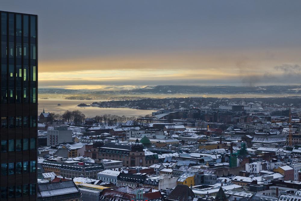 Aussicht & Blick aus dem Fenster Radisson Blu Plaza Oslo