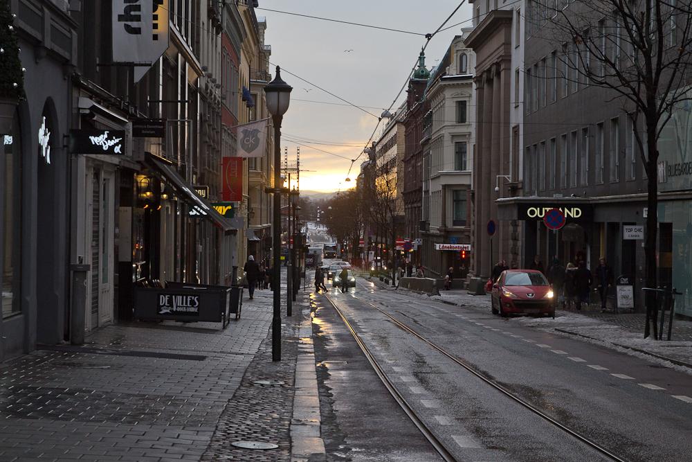 Innenstadt von Oslo