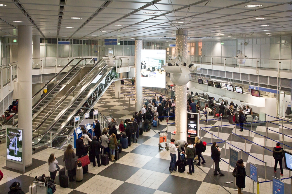 Iberia Schalter Flughafen München