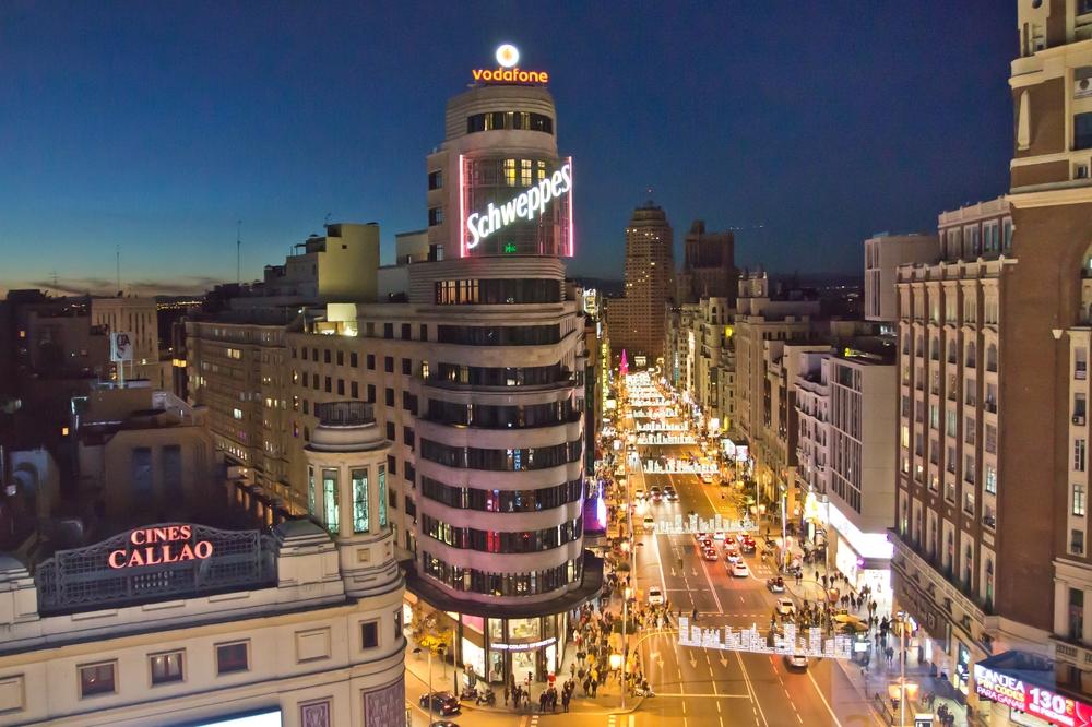 Plaza del Callao Hotel Vincci Capitol Madrid, Gran Vía
