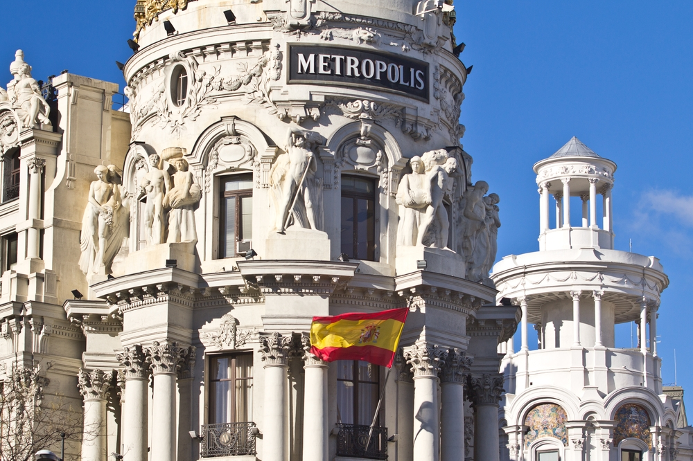 Edificio Metrópolis Calle de Alcalá, Madrid