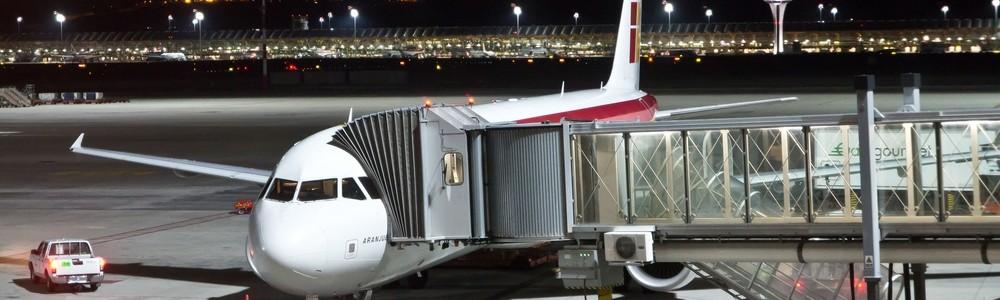 Iberia alte Lackierung Terminal 4 Madrid Barajas