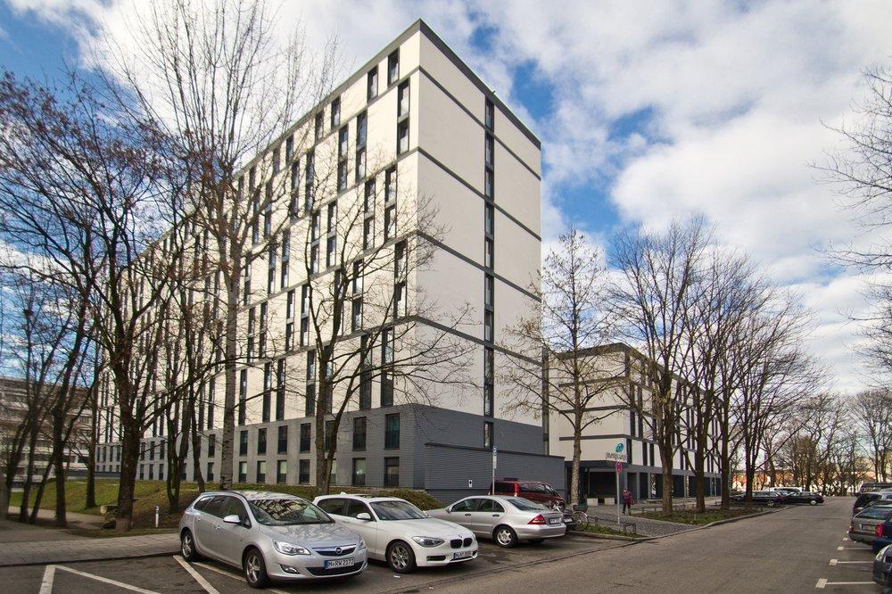 Außenansicht Design Hotel Motel One Deutsches Museum in München