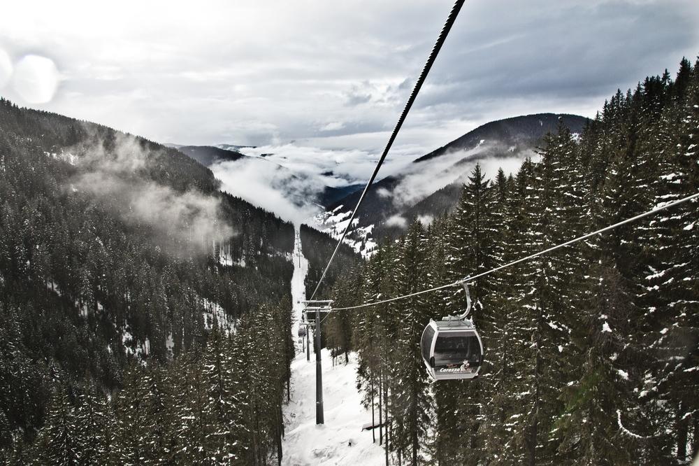 Skifahren Südtirol Dolomiten Skiurlaub