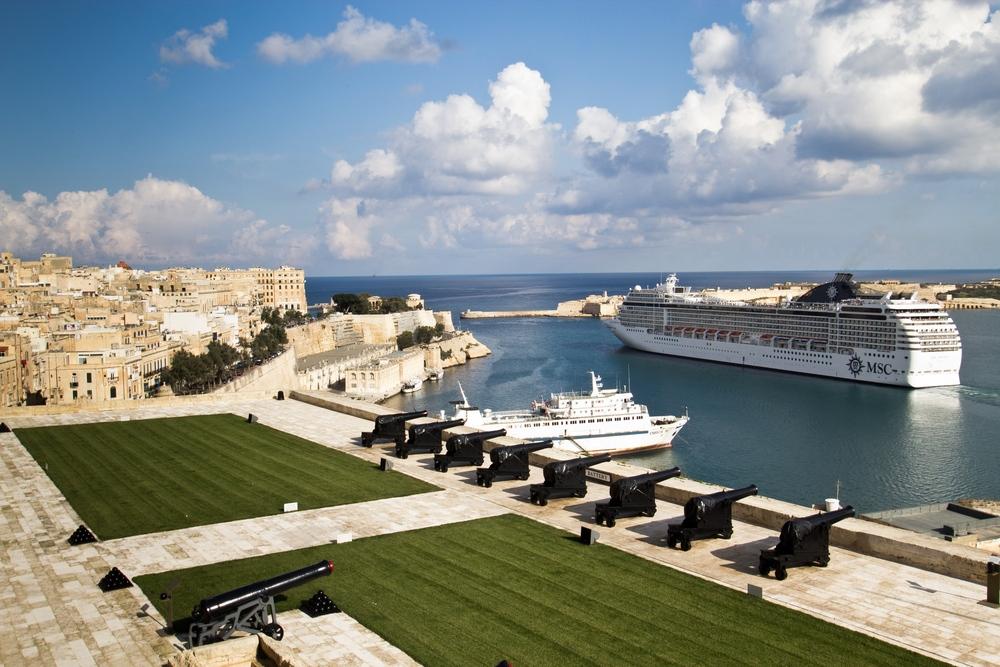 Kreuzfahrt Mittelmeer MSC Malta