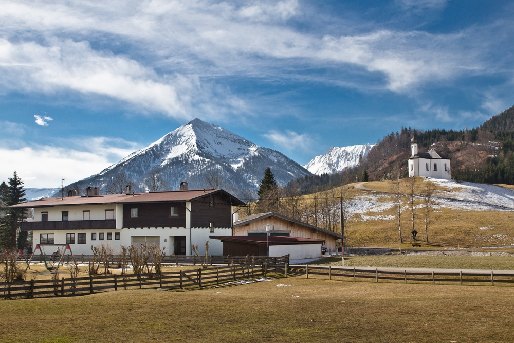 Das Dörfchen Achenkirch (hier geht's zum Bericht) - Ein herrliches Beispiel für die Schönheit der Bergwelt