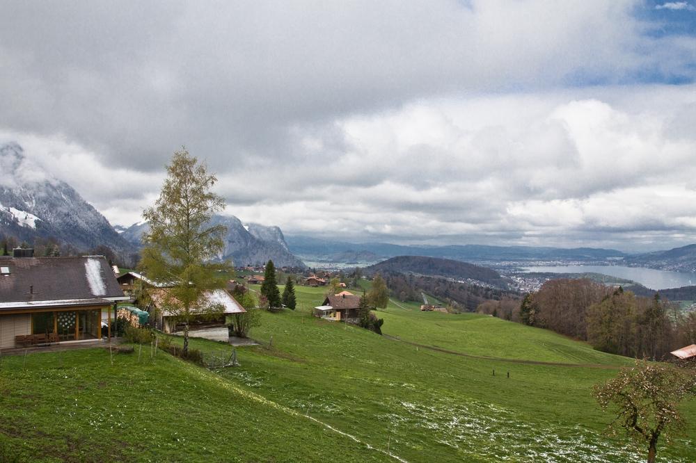 Schweiz Berner Oberland Ferienhaus Thunersee