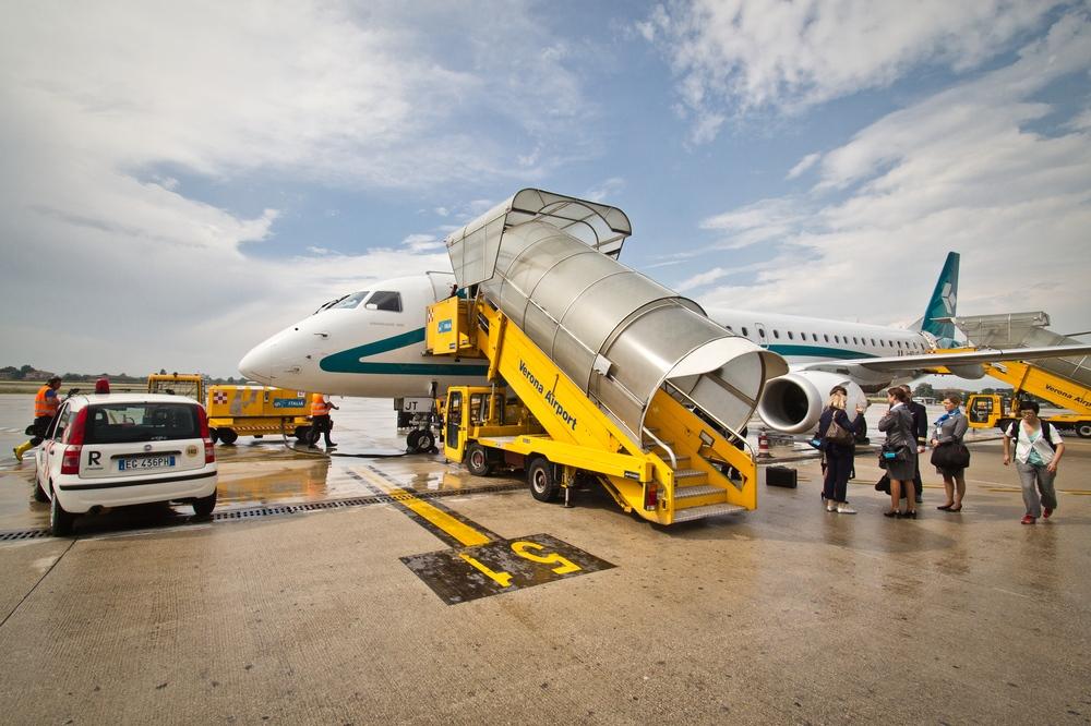 Verona Airport Apron Air Dolomiti