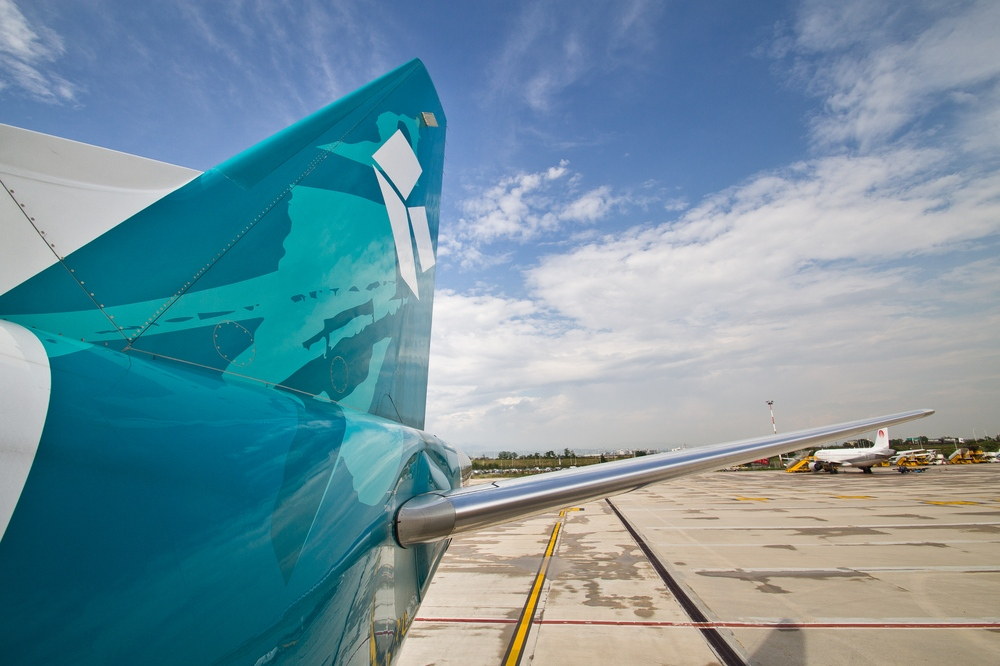 Leitwerk Embraer 195 Air Dolomiti