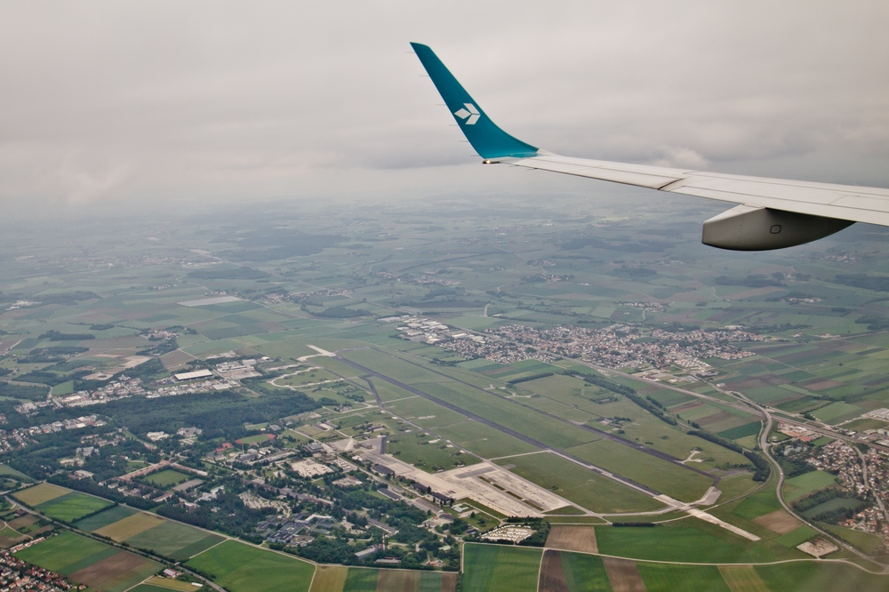 Flughafen Fürstenfeldbruck Luftbild