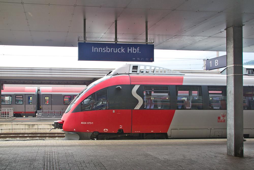 Innsbruck Hauptbahnhof ÖBB