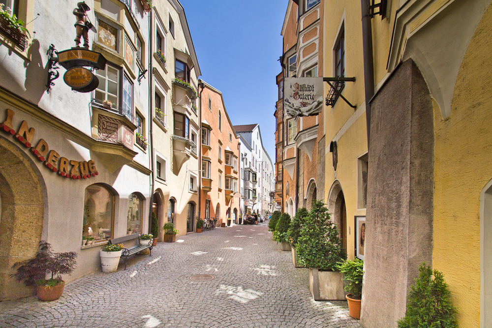 Altstadt Gasse Hall in Tirol