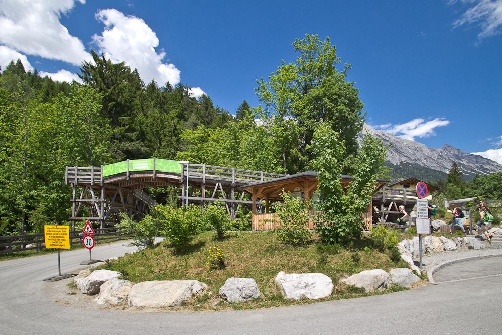 Eingang Naturpark Karwendel