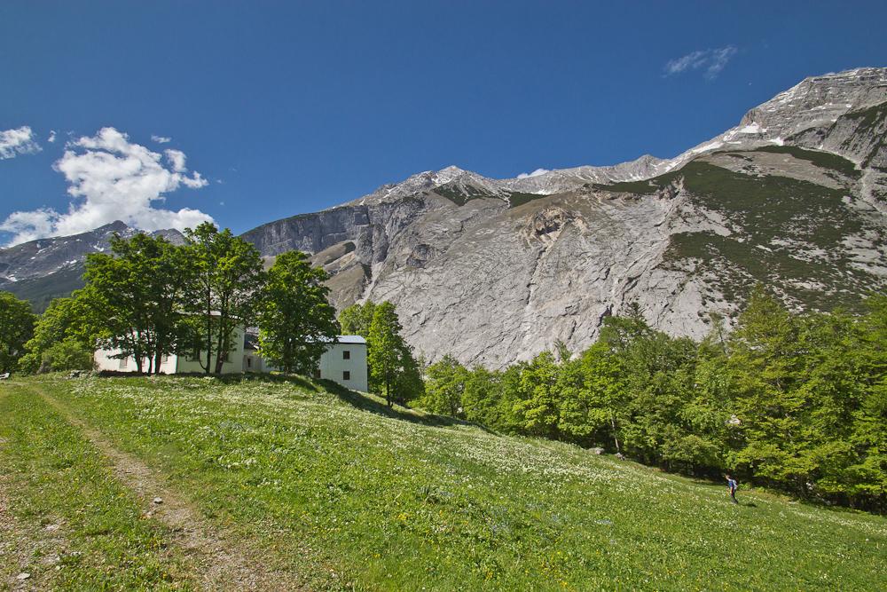 St. Magdalena Hütte Karwendel