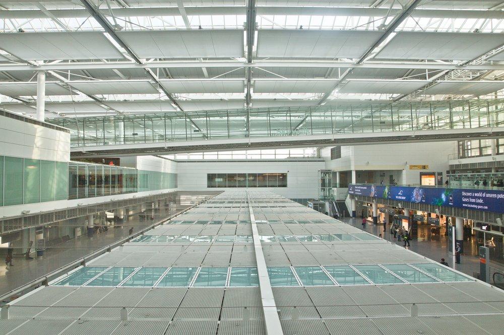 Sicherheitskontrolle Flughafen München Business Lounge