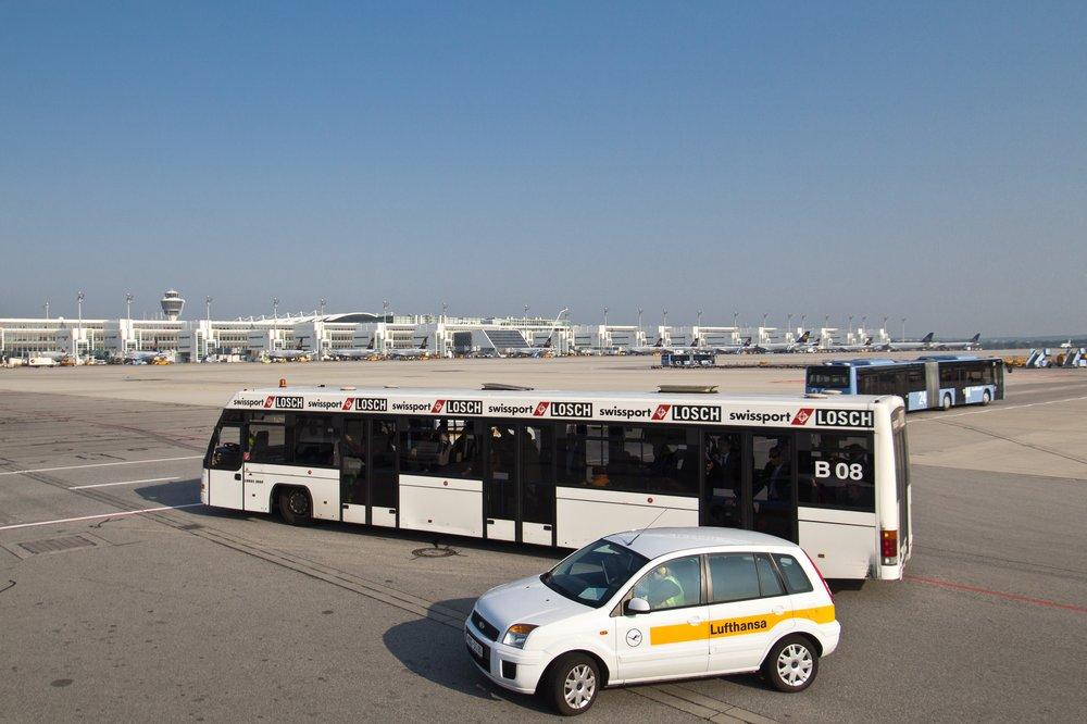 Vorfeld Apron Munich Airport